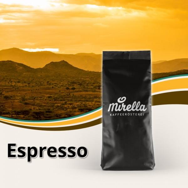 Espresso Harrar Longberry - fair gehandelt
