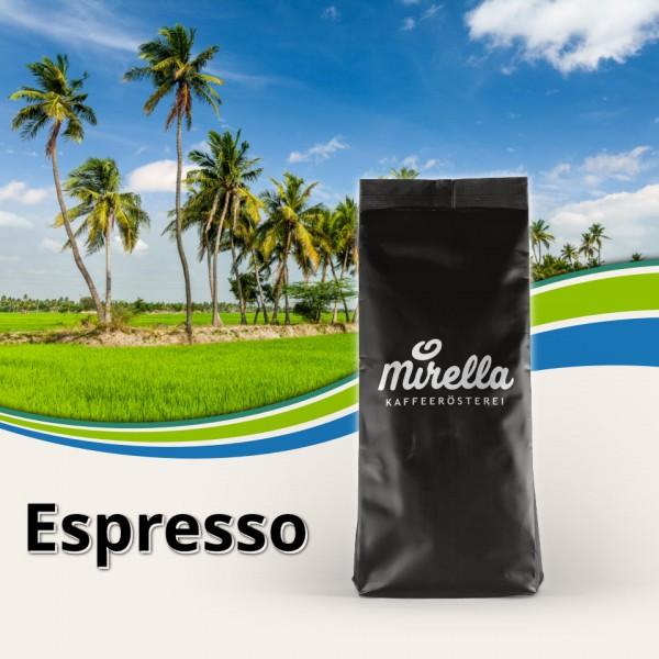 Espresso Malabar aus Indien